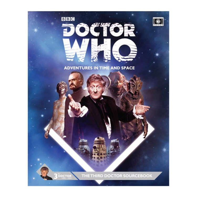 Dr. Who: Third Doctor Sourcebook