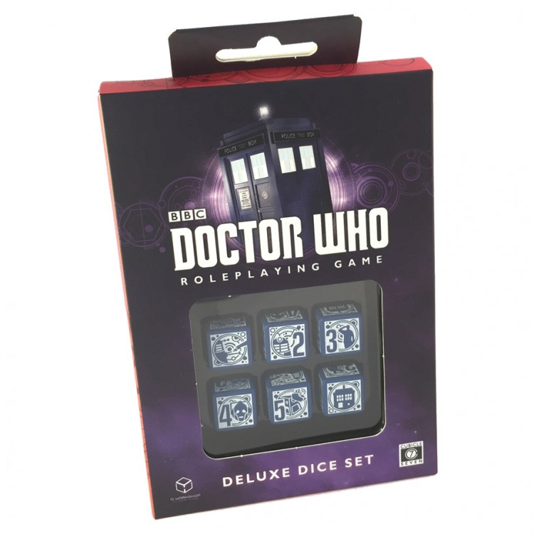 Dr. Who Deluxe Dice Set