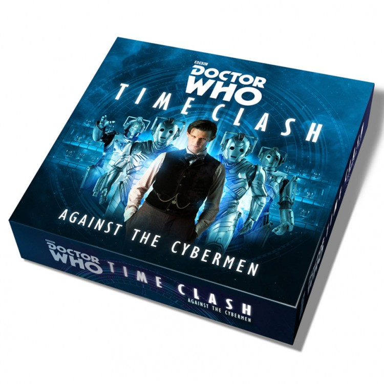 Dr. Who Time Clash Against the Cybermen