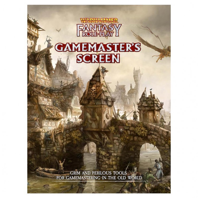 Warhammer Fantasy Role=playing: Gamemaster's Screen