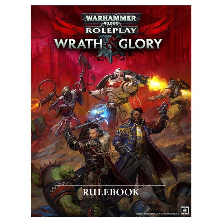 W&G 40K: Wrath & Glory Corebook