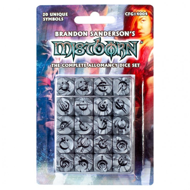 Dice: Mistborn Allomancy Complete Set