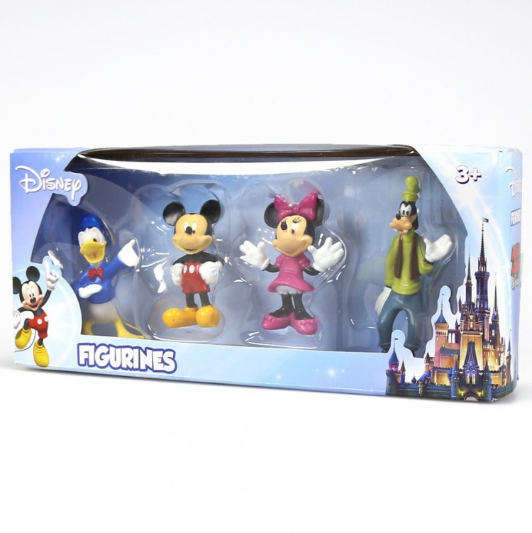 Disney Mickey Mouse Figurines 4 Pack