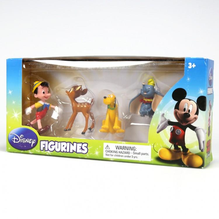 Classic Disney Characters Figurines 4pk