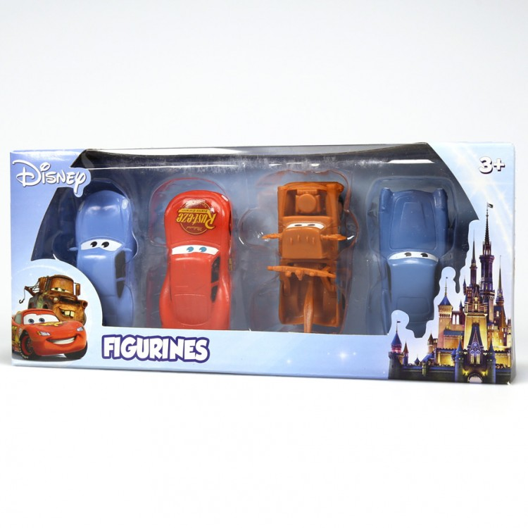 Disney: Cars 4 Pack