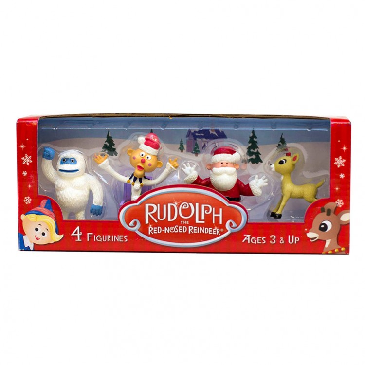 Rudolph: Set 2 (4 Pack)