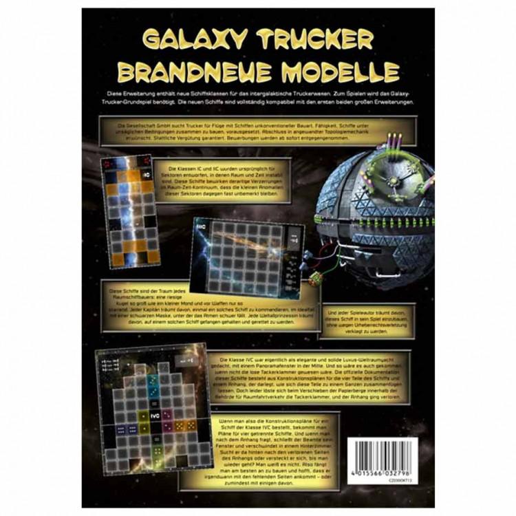 Galaxy Trucker - The Latest Models