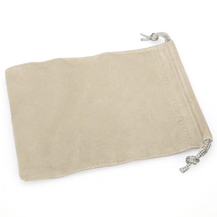 Dice Bag: SM Suede Cloth GY