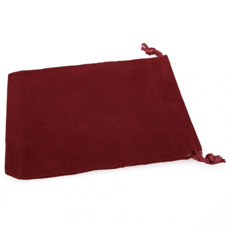 Dice Bag: SM Suede Cloth BUR