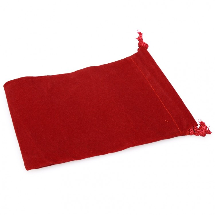 Dice Bag: SM Suede Cloth RD