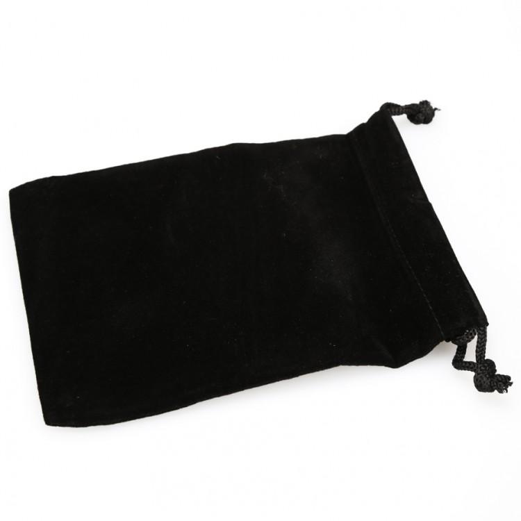 Dice Bag: SM Suede Cloth BK
