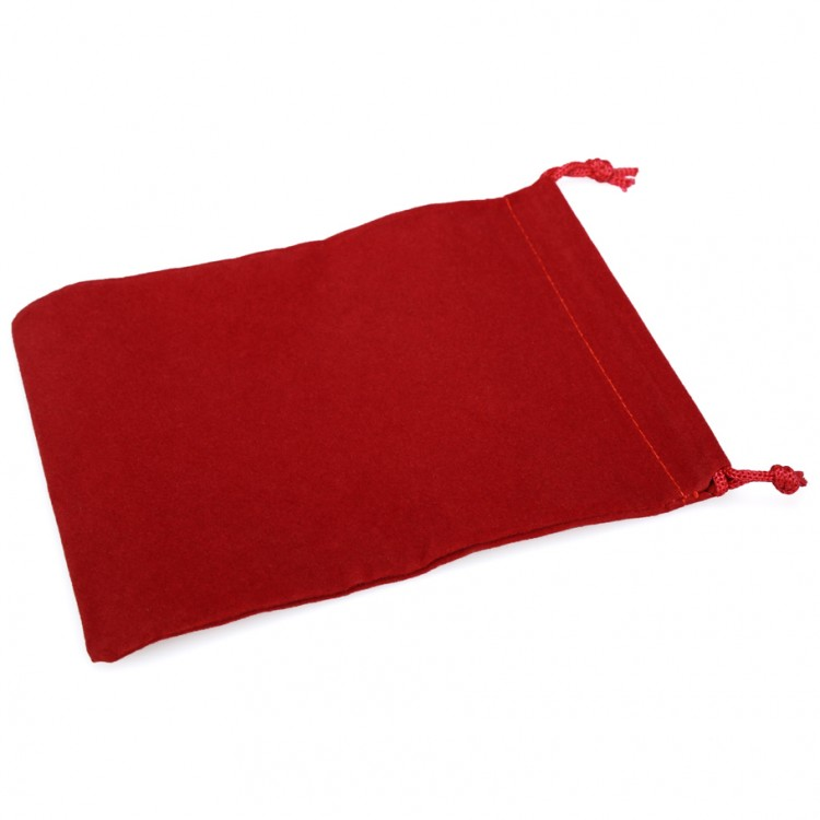Dice Bag: LG Suede Cloth RD