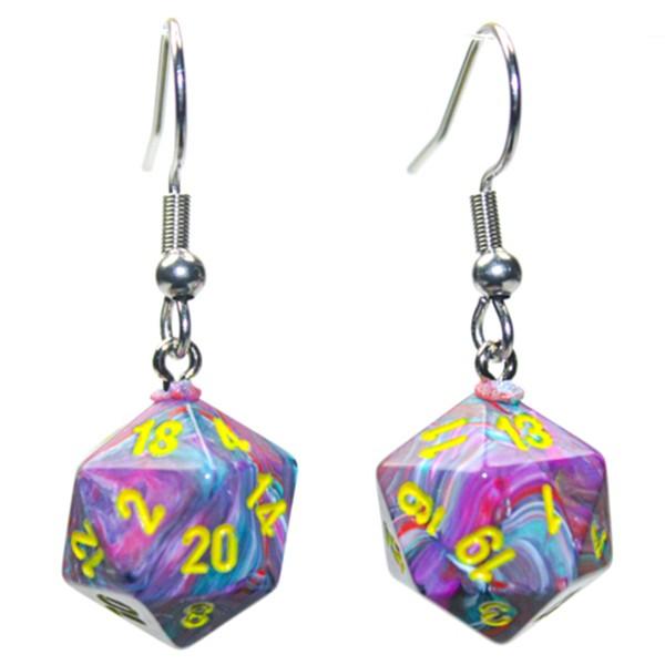 Hook Earrings FST Mosaic Mini d20