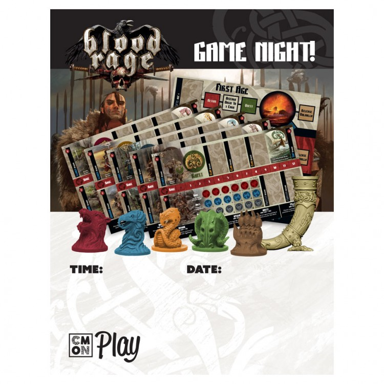 Blood Rage Game Night Kit