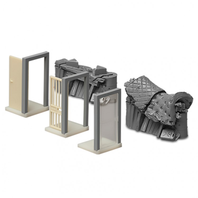 Zombicide: Doors & Barricades 3D Pack