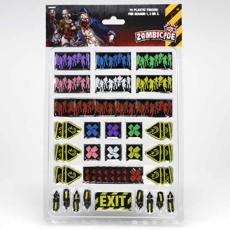 Zombicide: Plastic Tokens Pack