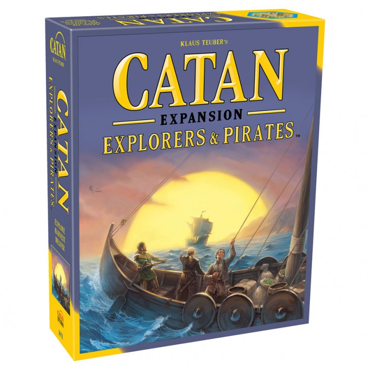 Catan Exp: Explorers & Pirates