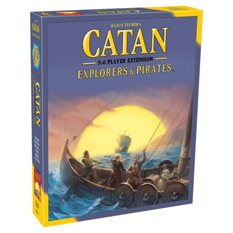 Catan Ext: Explorers & Pirates 5-6 Playe