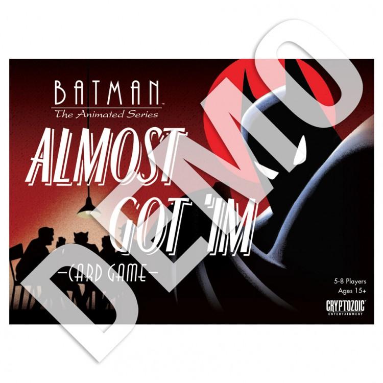 Batman Almost Got 'Im Card Game Demo