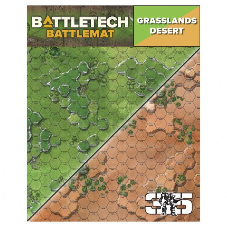 CYT35800A BattleTech Battle Mat Grasslands Desert