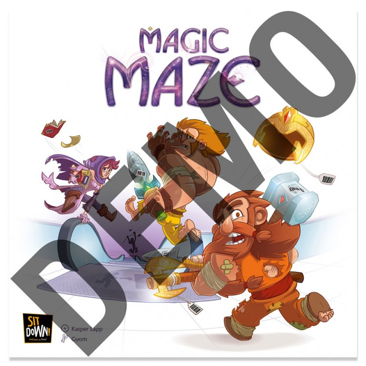 Magic Maze Demo