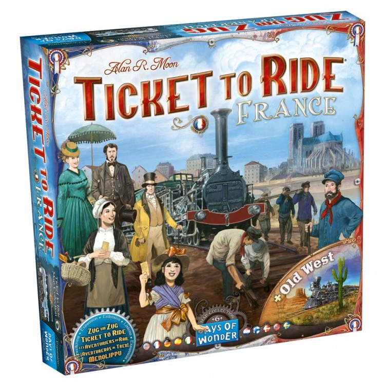 Ticket to Ride: France & Old West Map 6