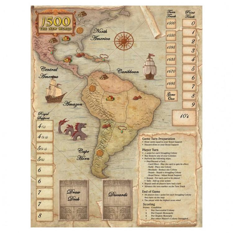 1500 - The New World Neoprene Mat