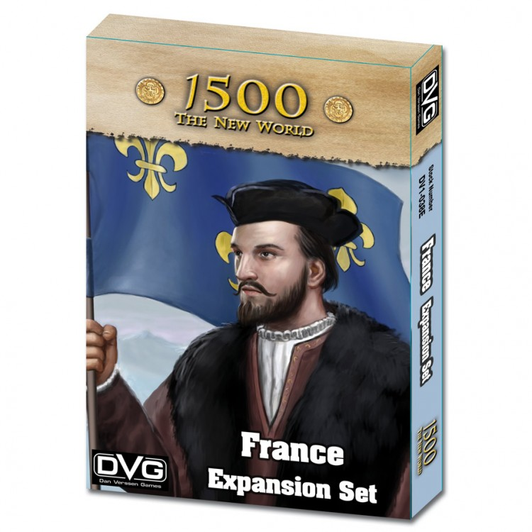 1500 - The New World: France Exp
