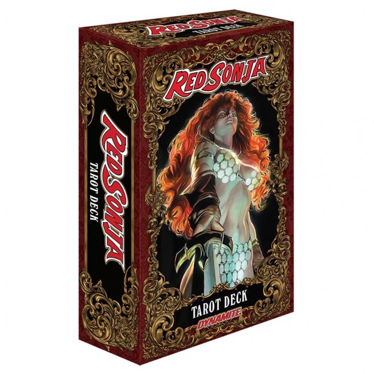 Red Sonja Tarot Deck