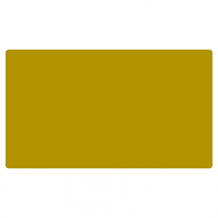 Play mat, Blank Mustard Yellow/Gold