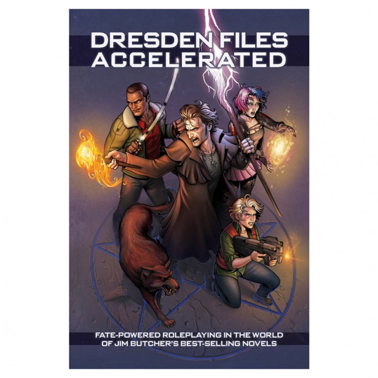 Fate Core: Dresden Files: Accelerated