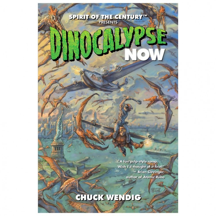 SotC: Dinocalypse Now (Novel)