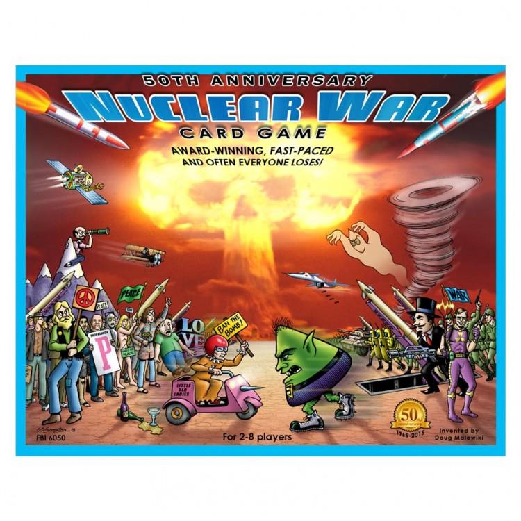 Nuclear War Card Game 50th AnniversaryEd