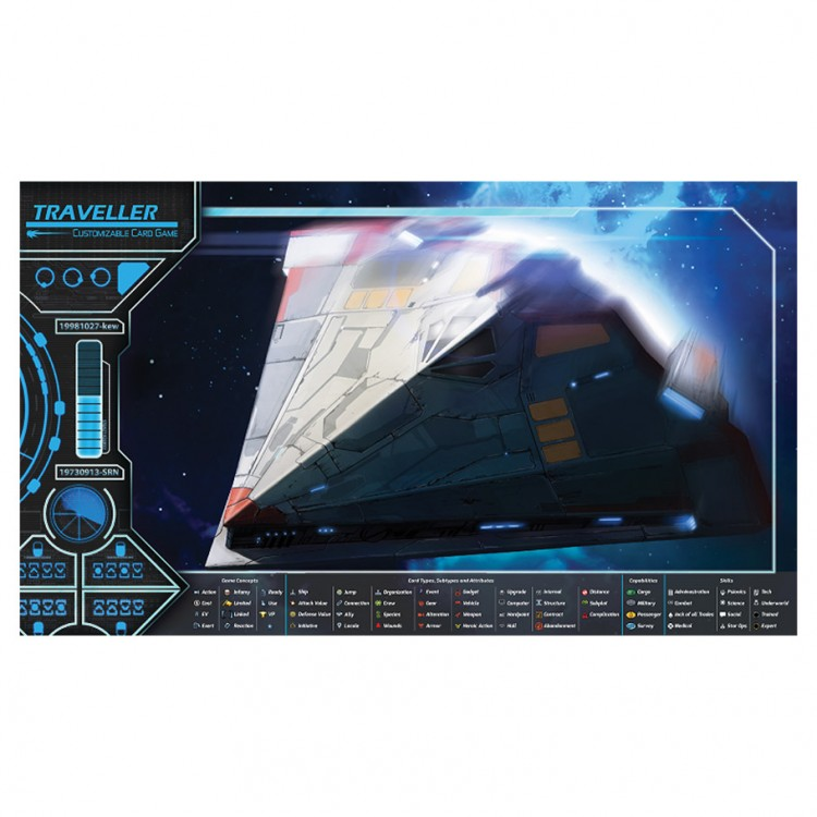 Traveller CG: Play Mat Type S Scout