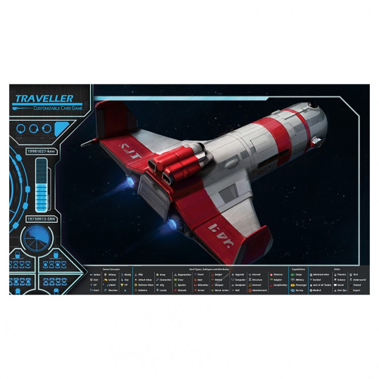 Traveller CG: Play Mat Subsidized Merch