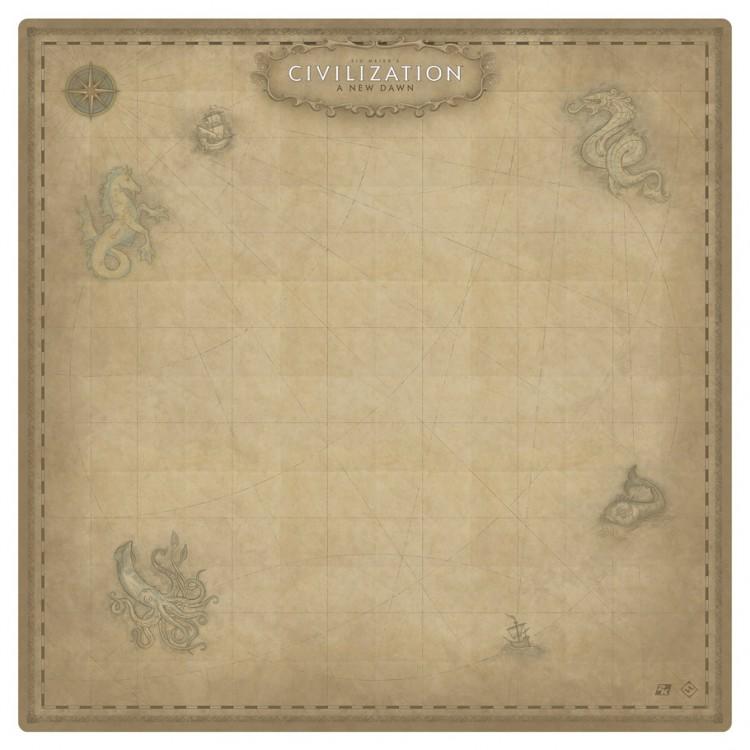 Gamemat: Sid Meier's Civilization