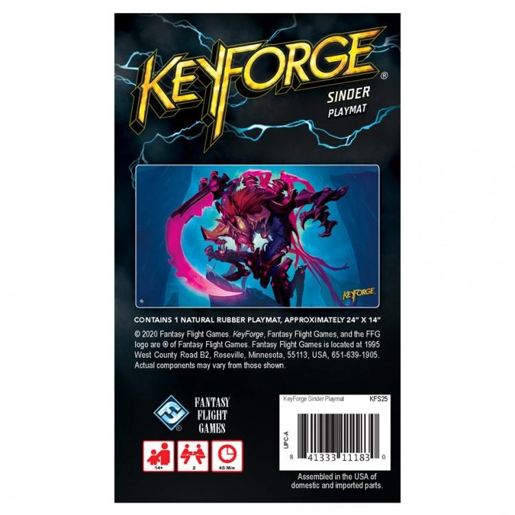 KeyForge: Sinder Playmat