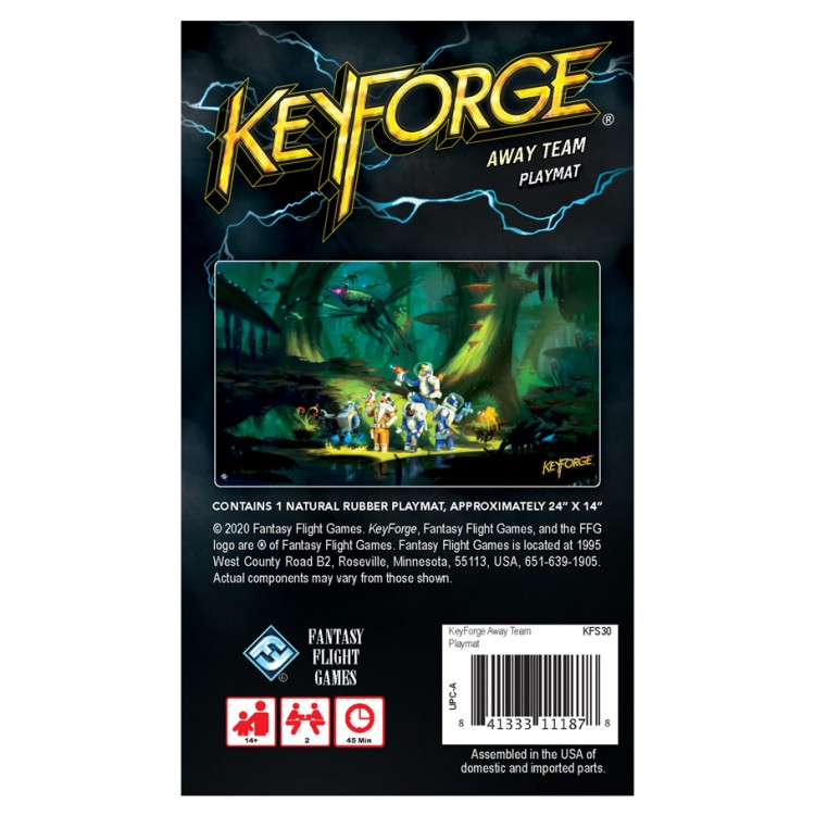 KeyForge: Away Team Playmat