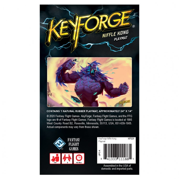 KeyForge: Niffle Kong Playmat