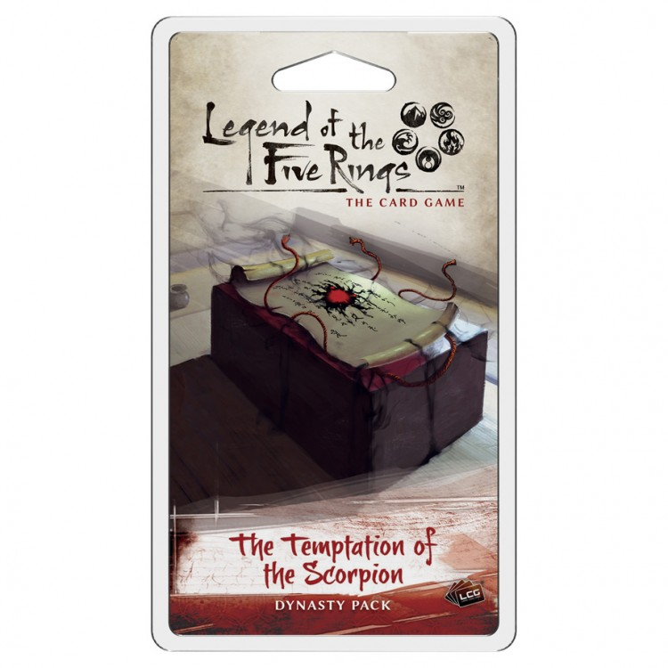 L5R LCG:The Temptation o/t Scorpion Pack