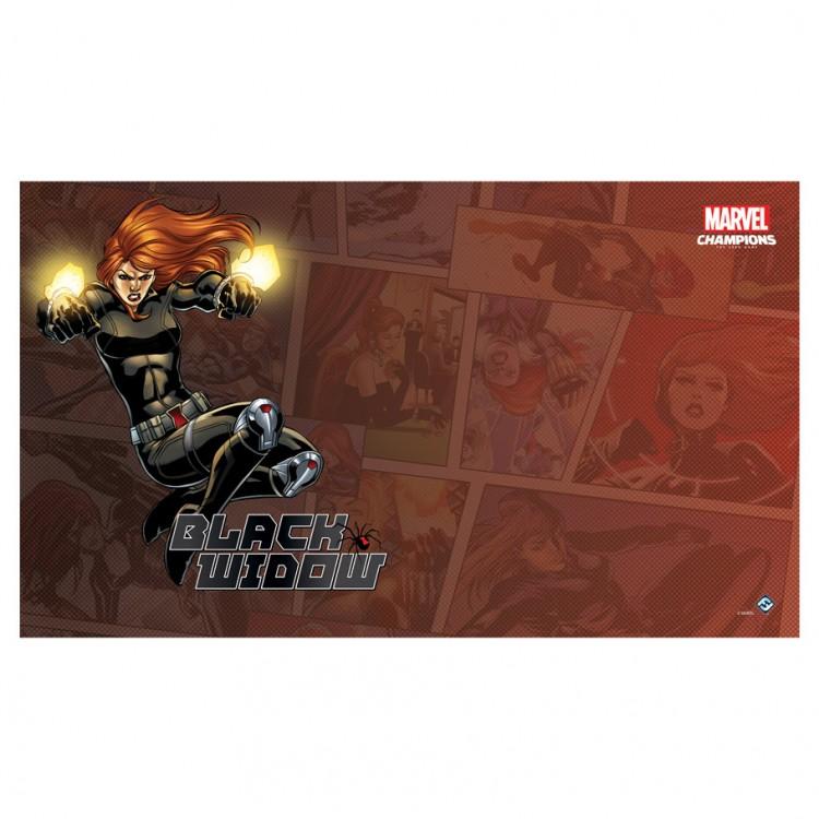 MC LCG: Black Widow Game Mat