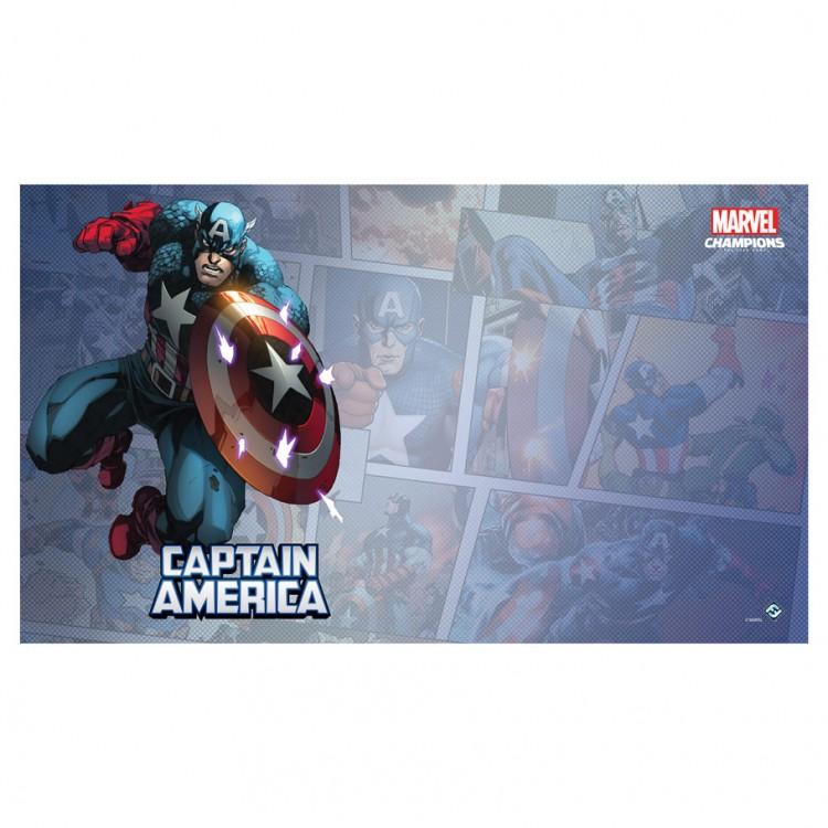 MC LCG: Captain America Game Mat