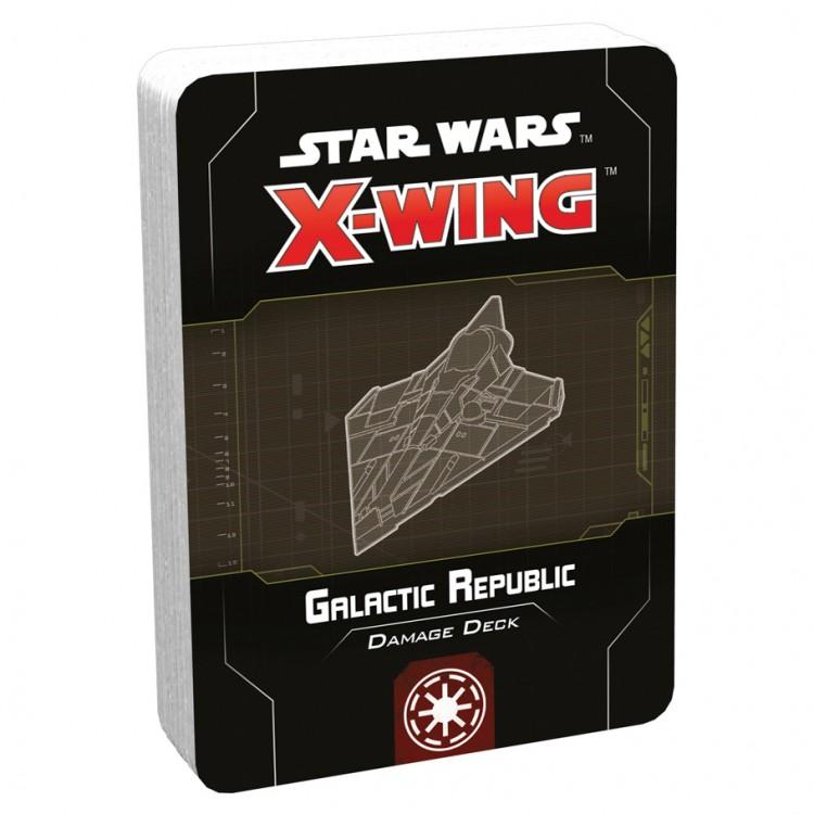 SW X-Wing 2E: Galactic Republic Dmg Deck