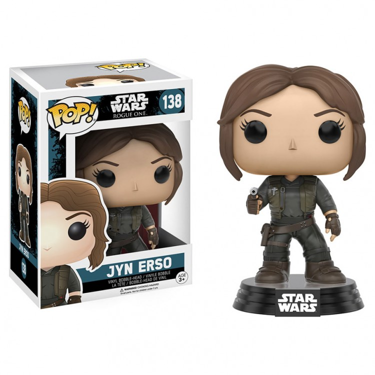 Pop!  BH: Star Wars: Rogue 1: Jyn Erso