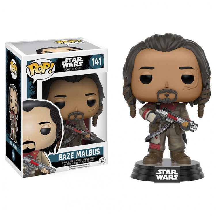 Pop! BH: Star Wars: Rogue 1: Baze Malbus