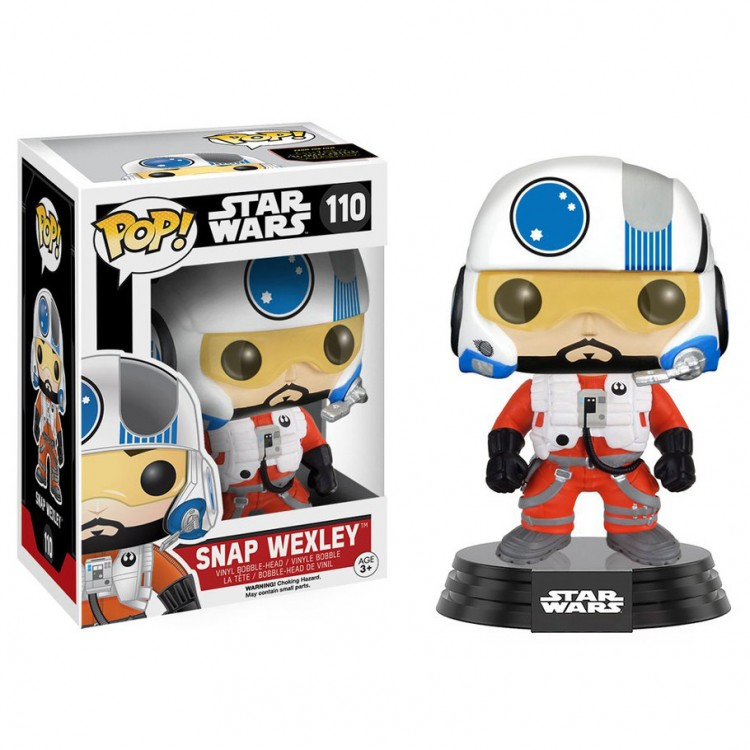 Pop! BH: Star Wars: EP7: Snap Wexley