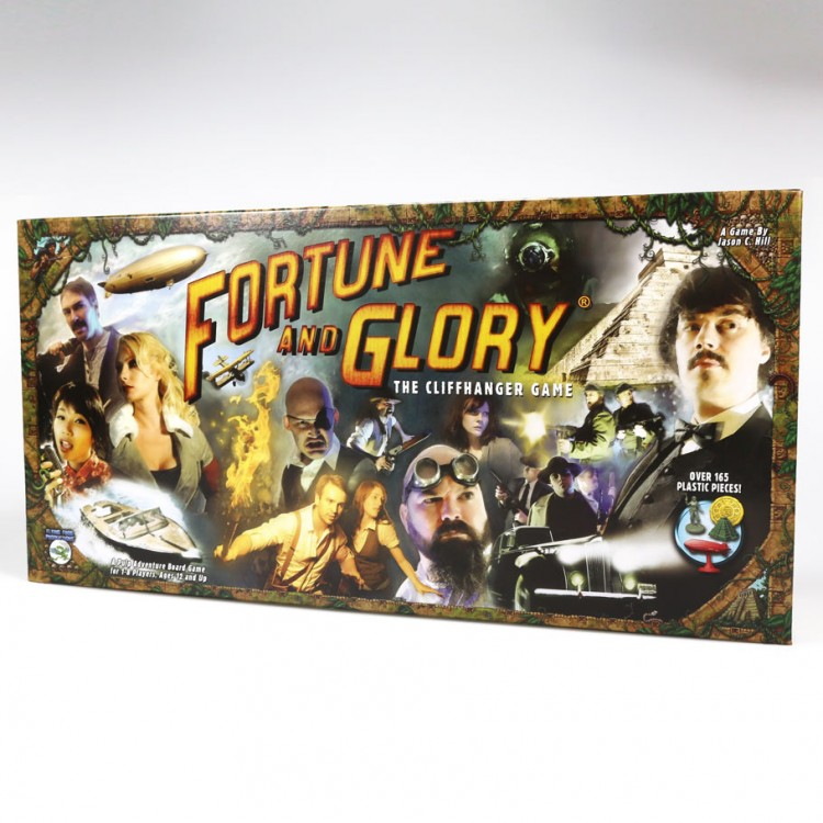 Fortune and Glory, The Cliffhanger Game