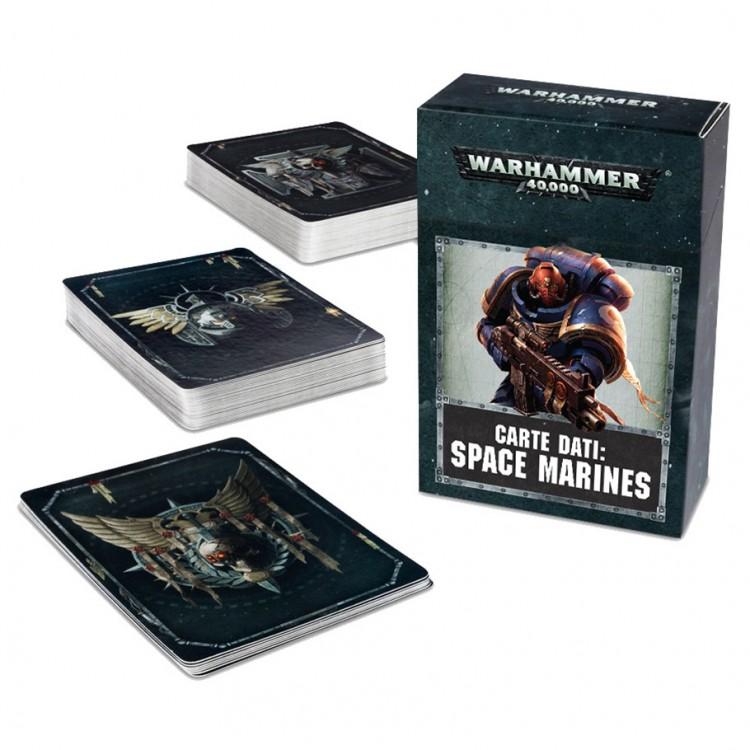 48-02-60 40K: Datacards: Space Marines