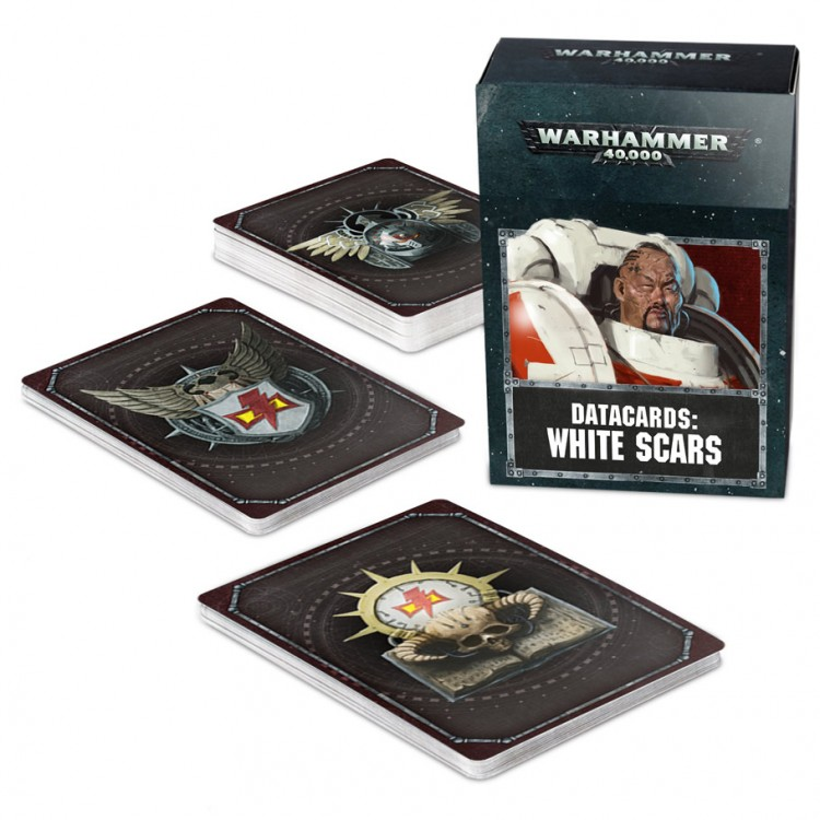 53-43-60 WH 40K: Datacards: White Scars