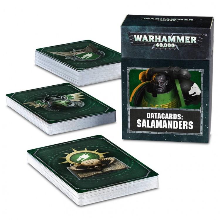53-50-60 40K: Datacards: Salamanders